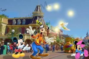 11 Main Street 02 Mickey y amigos