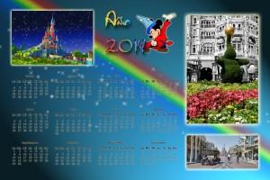 1002  Calendario 2014 Disneyland 01