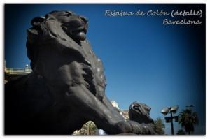 102 Barcelona Colón detalle león