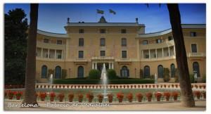 803 Barcelona Palacio Pedralbes vista general