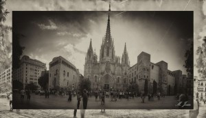 202 Catedral Barcelona panorámica