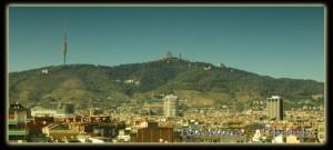 307 Barcelona, tibidabo desde pl españa