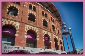 309 Barcelona, pl españa detalle