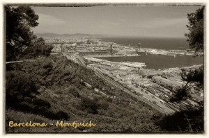 501 Barcelona Montjuich vista del mar