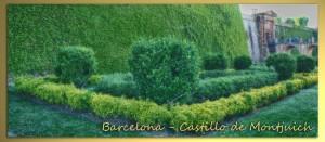 702 Barcelona Montjuich castillo jardines