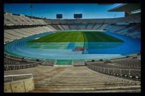 921 Barcelona Montjuich estadi olimpic