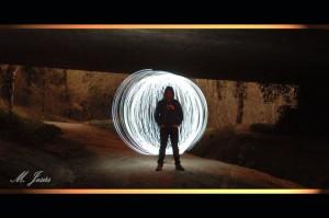 09 Nocturno Can Massana Tunel bola luz
