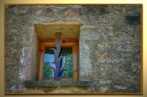 13 Mura pequeña ventana
