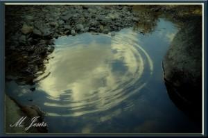 03 Reflejos - río nubes