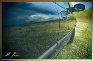 04 Reflejos - coche y pantano