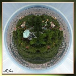 14 Pequeño planeta Tibidabo vista Barcelona