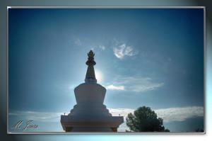 02 Monasterio Budista contraluz
