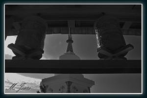 04 Monasterio Budista rulos y pagoda