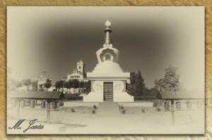 18 Monasterio budista vista general lugar