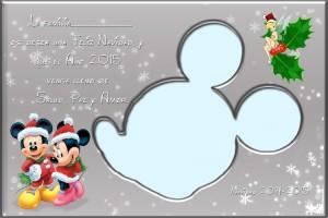 00 Postal Navidad silueta Mickey