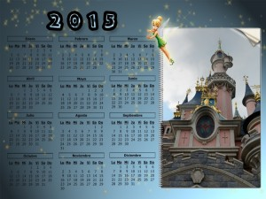 01 Calendario 2015 Castillo Disneyland 75x100