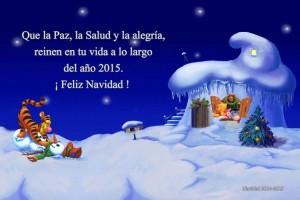 02 Postal Navidad Pooh y amigos