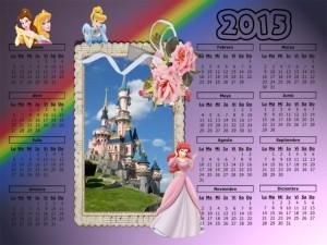 04 Calendario 2015 Disneyland Castillo