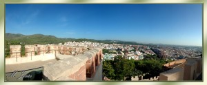 06 Castillo de Castelldefels panorámica