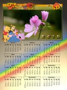 09 Calendario 2015 Flor Pirineos Aragones