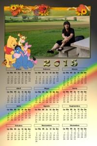 10 Calendario 2015 ejemplo