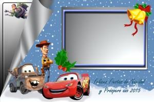 10 Postal Navidad pixar