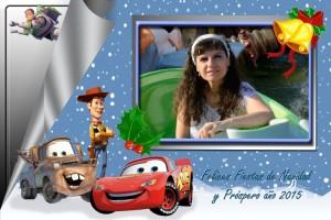 11 Postal Navidad pixar ejemplo