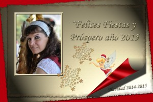 14 Postal Navidad Campanilla con foto ejemplo
