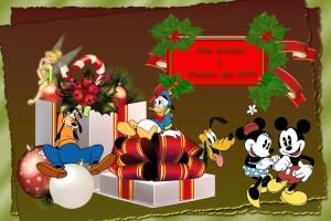 15 Postal Navidad Personajes varios