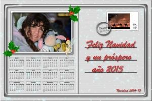 213 Postal Navidad Carta postal Disney 14-15 ejemplo foto