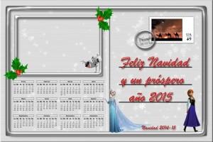 214 Postal Navidad Carta postal Disney 14-15