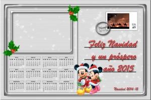 216 Postal Navidad Carta postal Disney 14-15
