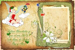 27 Postal Navidad Campanilla y amigos