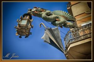 08 Les Rambles - Dragón farola