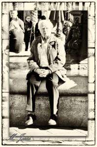 13 Les Rambles - fuente y abuelo